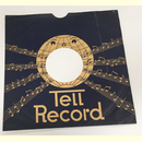 Original Tell Record Cover für 25er Schellackplatten
