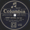 New Princes Toronto Band - Sunny Havana / Save Your...