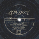Sir Hubert Pimm , Ellen Sutton - I Wanna Say Hello / The...