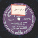 Ann Jones and Smokey Rogers - Bloodshot eyes /  Doin fine