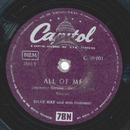 Billy May - All of me / Lean Baby
