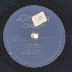 Billy Ward and his Dominoes - Lucinda / Star Dust