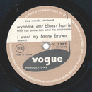 Wynonie mr blues Harris - I want my fanny brown / I feel...