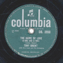 Tony Brent - The Game of Love / Dark Moon