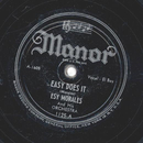 Esy Morales and his Orchestra - Easy Does It / Dark Eyes