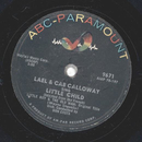 Cab Calloway - The Voice / Little Child
