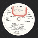 Machito & his Afro-Cuban Orch. - Mambo A La Savoy / Que...