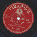 Harry Roys Tiger-Ragamuffins - Roy Club Rag / Harlem