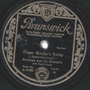 Amrose and his Orchestra - Organ Grinders Swing / Wood...