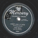 Jose Melis - Don´t Call It Love / Jungle Rhumba
