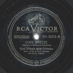 Dizzy Gillesspie - Manteca / Cool Breeze
