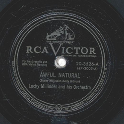 Lucky Millinder - Awful Natural / In The Middle Of The Night