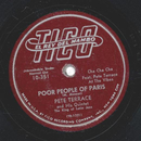 Pete Terrace - Poor People Of Paris / Shangrila