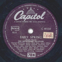 The Metronome All Stars - Early Spring / Local 802 Blues