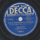 Jan Savitt and his Orchestra -It´s A Wonderful World /...