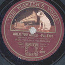 Jack Hyltons Hyltonians - When You Smile / Tinker Tailor