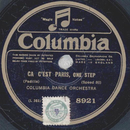 Columbia Dance Orchestra / The Charleston Serenaders - Ca...