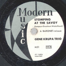 Gene Krupa Trio - Stomping at the Savoy / Body and Soul