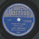 Louis Armstrong - After youve gone / I got Rhythm