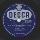 Vera Lynn - A House With Love In It / Little Lost Dog