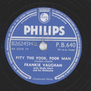 Frankie Vaughan - Pity The Poor, Poor Man / The Green Door