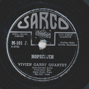 Vivien Garry Quartet - Hopscotch / Where you at
