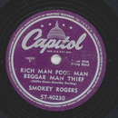 Smokey Rogers - Rich Man Poor Man Beggar Man Thief / Make...